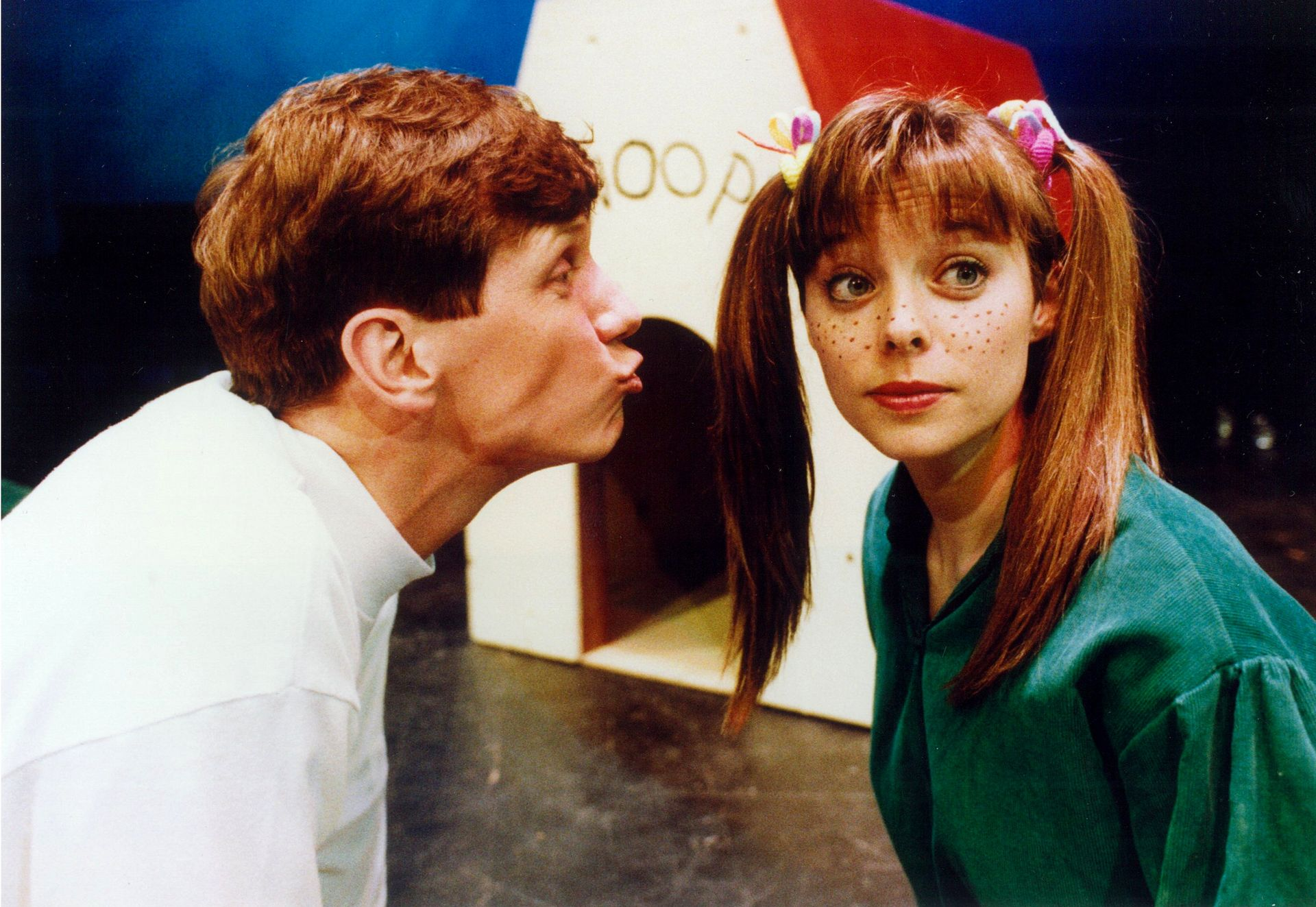 Daniel Hall and Colleen Hood in You're a Good Man, Charlie Brown