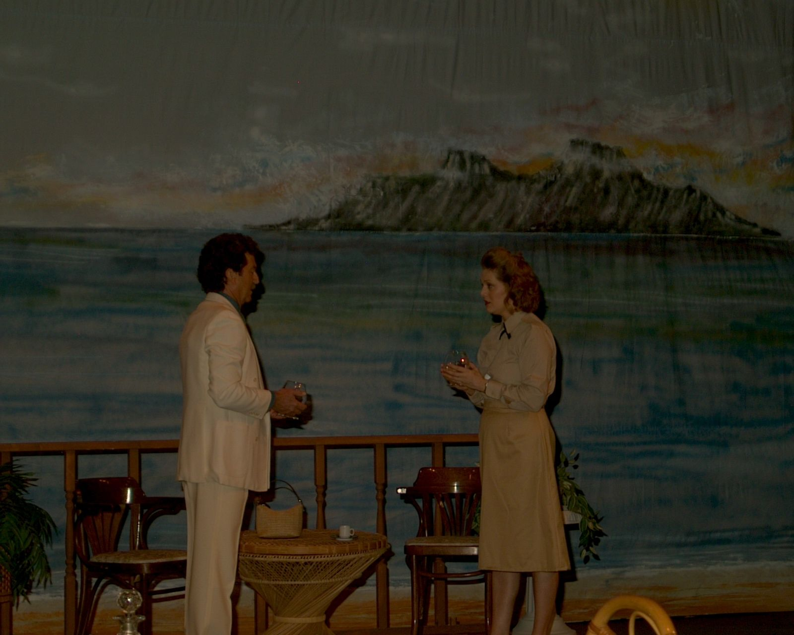 Richard Heyman and Judy Dunsmuir in South Pacific