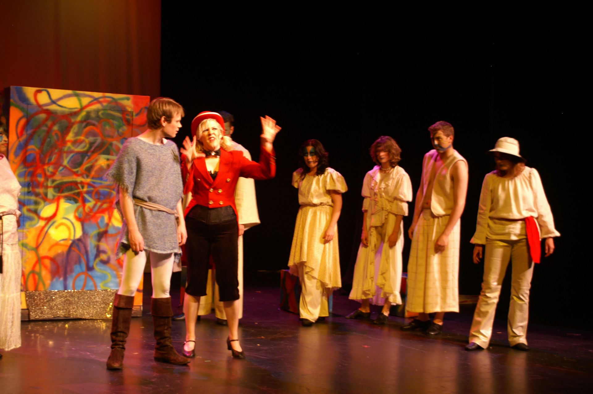 Darren Stewart, Lindsay Kurtze, Rosemary Van Dyk, Emily Ford, Jordan Collalto and Jane Phillips in Pippin