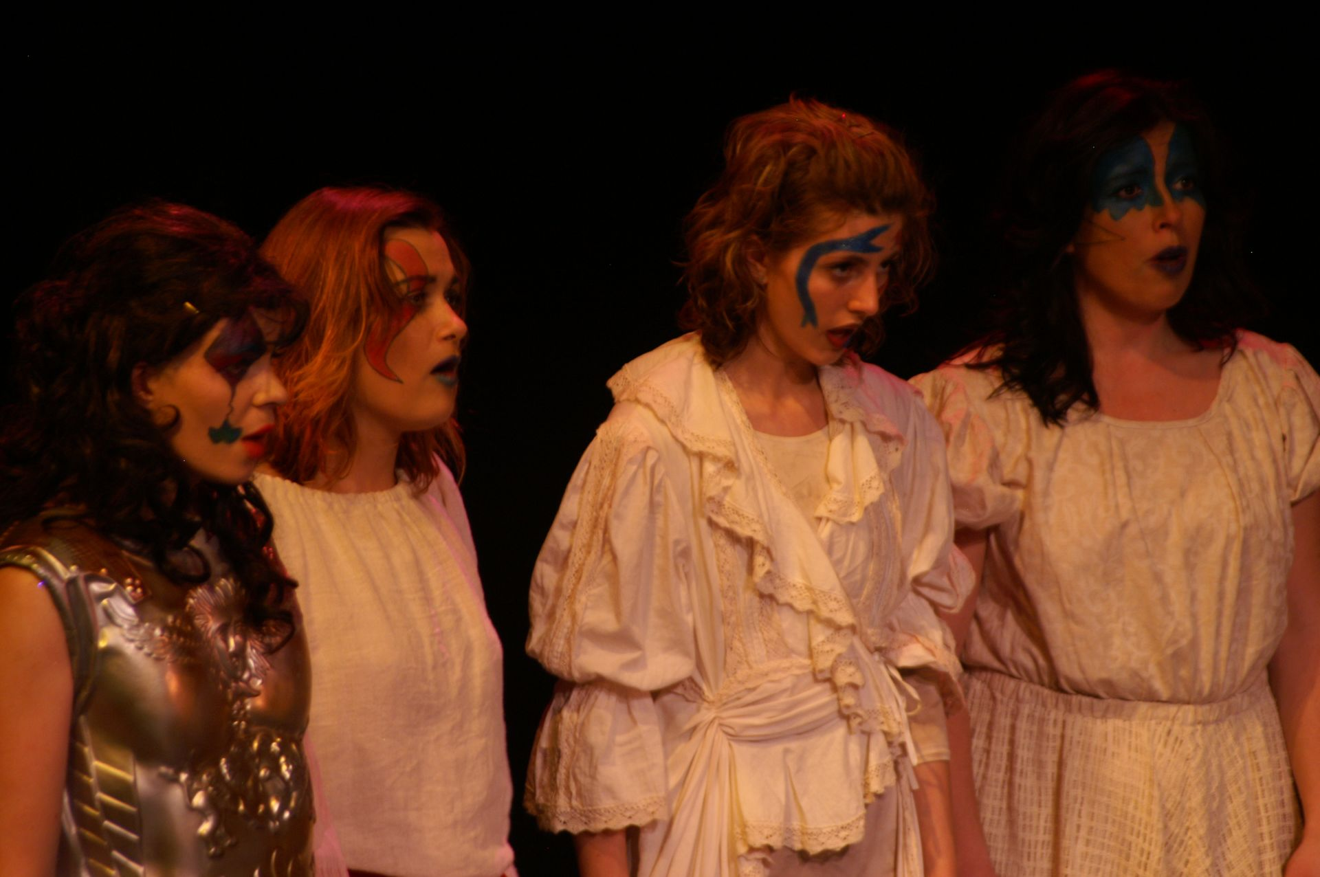 Krista Willott, Jane Phillips, Emily Ford and Rosemary Van Dyk in Pippin