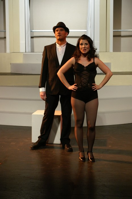 Brian Holiday and Ashlyn Beatty in Nine