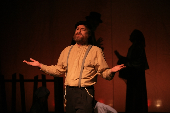 Michael Brown in Fiddler on the Roof