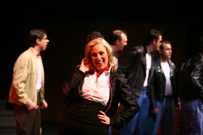 Lyndsey Paterson in Grease