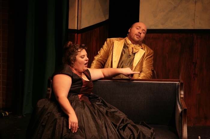 Tarra Riley and Jeremy Walker in Sweeney Todd: The Demon Barber of Fleet Street