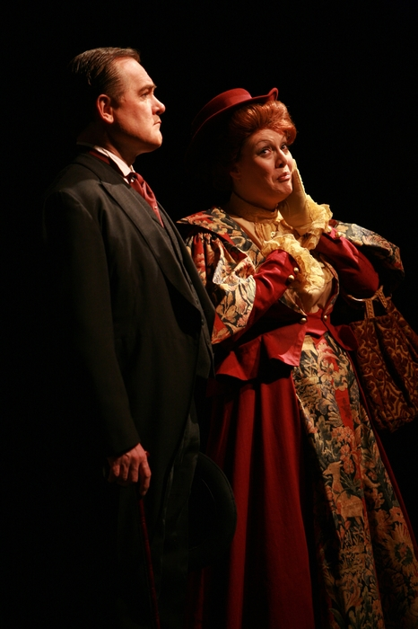 Russell Moore and Judy Dunsmuir in Hello Dolly!