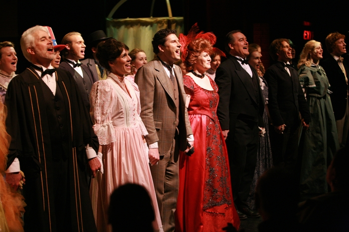 Kathy Shaw, Greg Miller, Graham Phillips, Ryan Ehrenholz, Christine Horne, Katie Miller, James Noonan, Judy Dunsmuir, Suzanne Berg, Russell Moore, Dana Stoutenburg, Janos Zeller, Annika Odegard and Jake Murray in Hello Dolly!