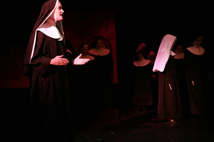 Barb Mitchell in Nunsense the Mega Musical