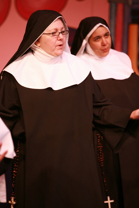 Cynthia Anderson and Jolene Anderson in Nunsense the Mega Musical