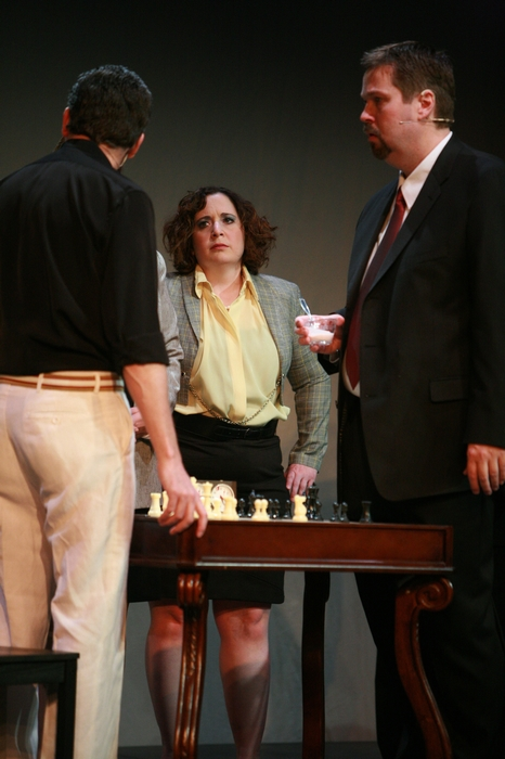 James Noonan, Tracy Smith and George Smith in Chess
