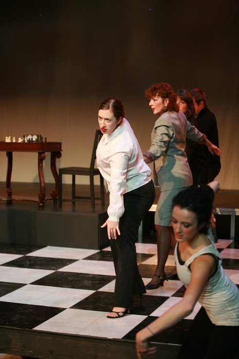 Allison Walters, Sherry West, Lurene Bates and Danielle Desmarais in Chess