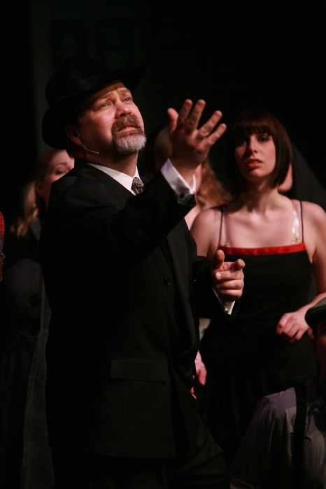 Clark Adams and Lindsay Harle in The Producers
