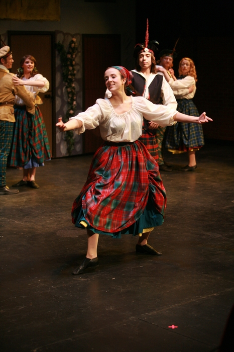 Danielle Desmarais and Graham Phillips in Brigadoon