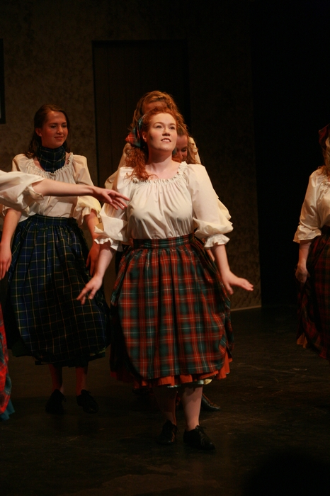 Sarah Ord and Heather Smuda in Brigadoon