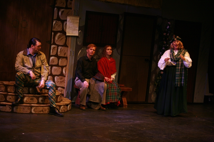 Keith Kollee, Janos Zeller, Dana Stoutenburg and Jane Tetley in Brigadoon
