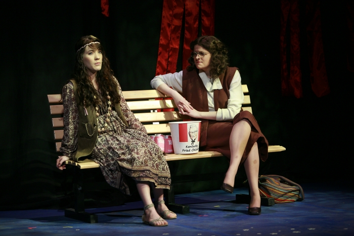 Shelby Leiding and Chloe Marshall in Assassins