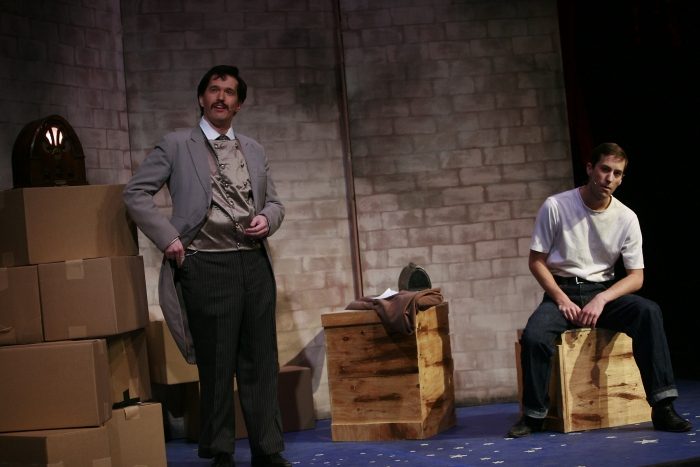 Janos Zeller and Bryan Smith in Assassins