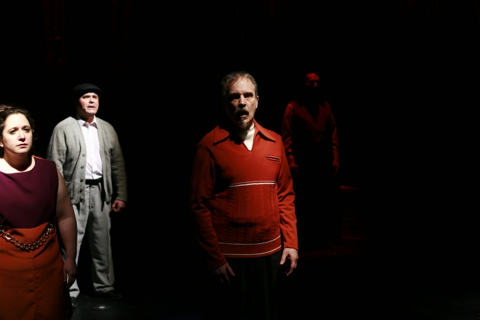 Tracy Smith, Murray Melnychuk and Roy Styan in Assassins