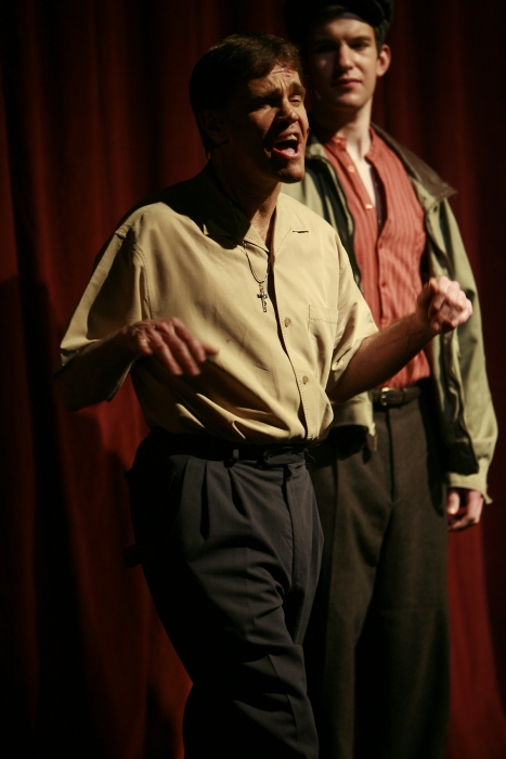 Van Ridout and Nick Driscoll in Assassins