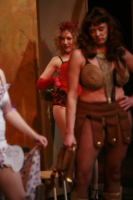 Jenifer Snell and Cherie Lee in Gypsy