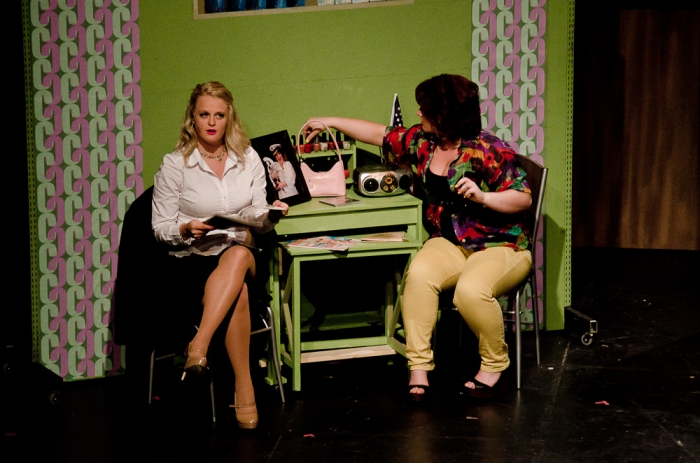 Ainsley Ohler and Katelyn Morishita in Legally Blonde