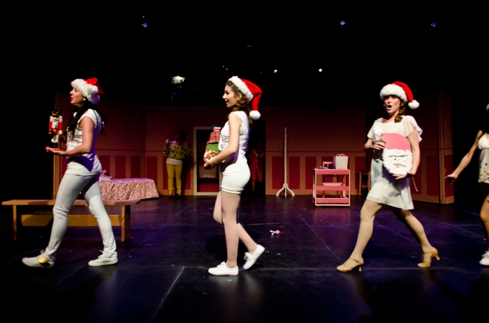 Danielle Desmarais, Alecia Pagnotta and Ellen Sullivan in Legally Blonde