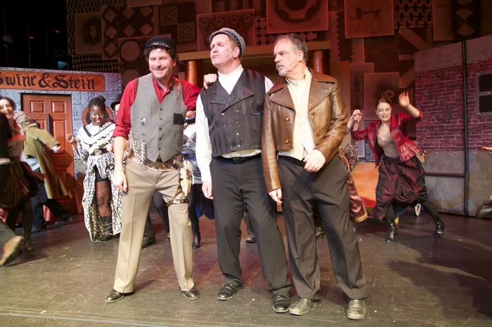 James Noonan, Wayne Hunter and Roy Styan in My Fair Lady