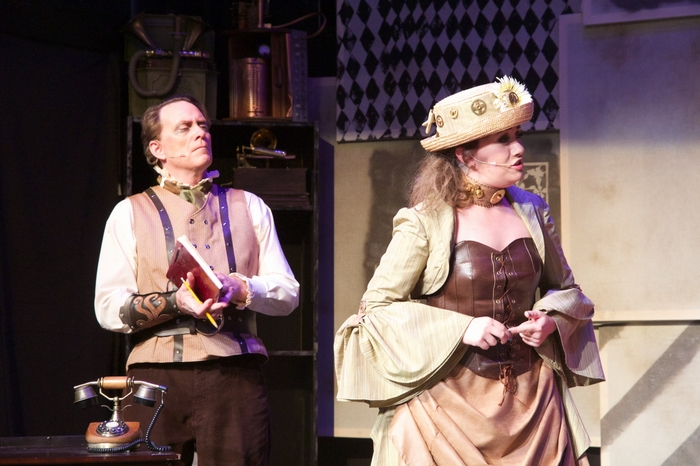 Michael Brown and Allie Higgins-Pompu in My Fair Lady