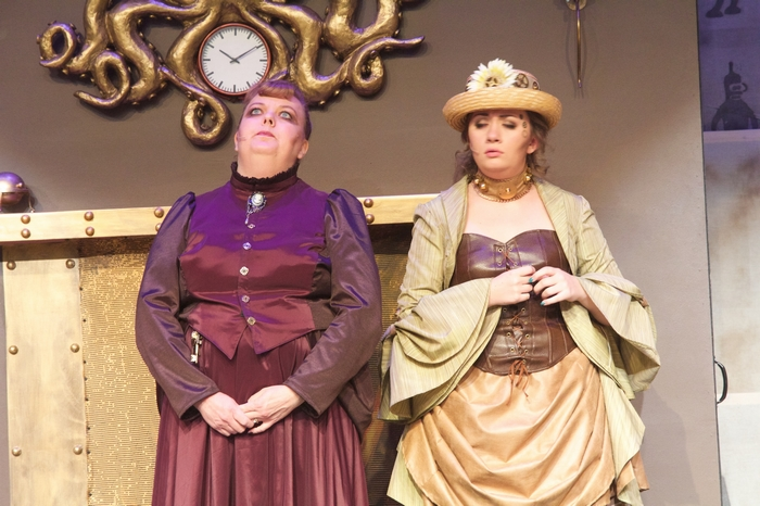 Jill Howell-Fellows and Allie Higgins-Pompu in My Fair Lady
