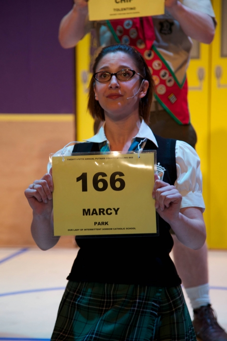 Amy Tollefson in The 25th Annual Putnam County Spelling Bee
