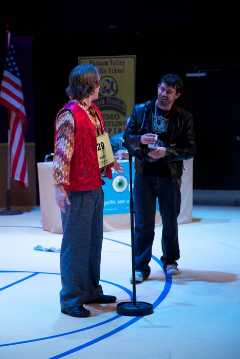 Darren Stewart and Jason Lemmon in The 25th Annual Putnam County Spelling Bee