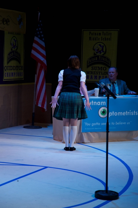 Amy Tollefson and Scottie Grinton in The 25th Annual Putnam County Spelling Bee