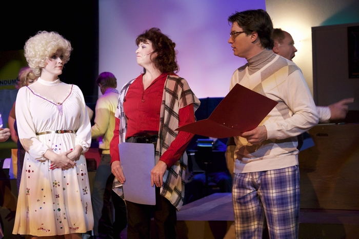 Jacqueline Reid, Cherie Lee and Mike Sornberger in 9 to 5 The Musical