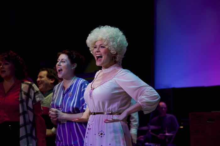Cherie Lee, Meg Martin and Jacqueline Reid in 9 to 5 The Musical