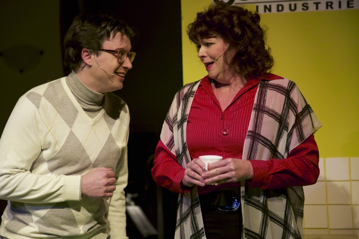 Mike Sornberger and Cherie Lee in 9 to 5 The Musical