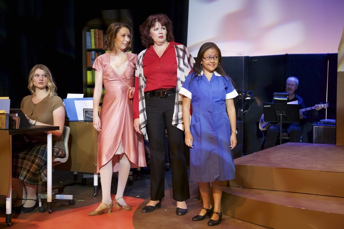 Jessica McIntyre, Christine Mooney, Cherie Lee and Mariane Barredo in 9 to 5 The Musical