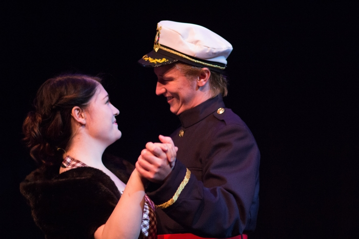 Kimberly McDonald and David Mottle in Anything Goes