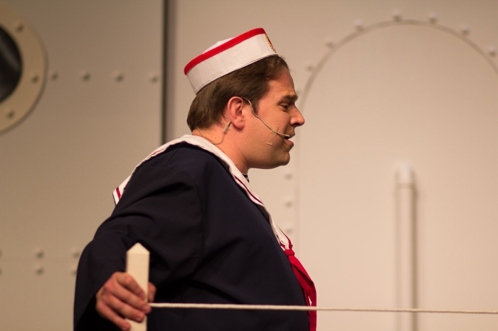 Gareth McVicar in Anything Goes