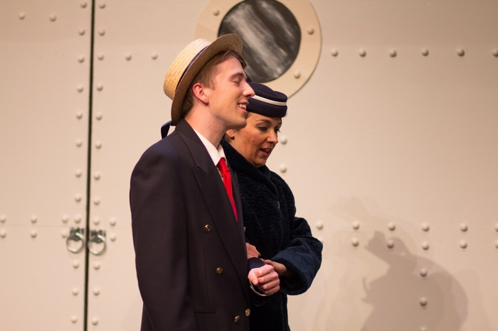 Evan Forbes in Anything Goes