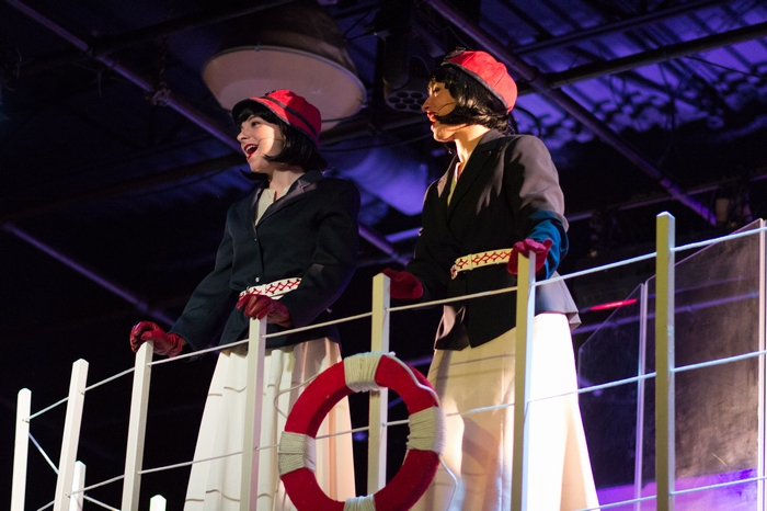 Chelsea Wellman and Nicole Bouwman in Anything Goes