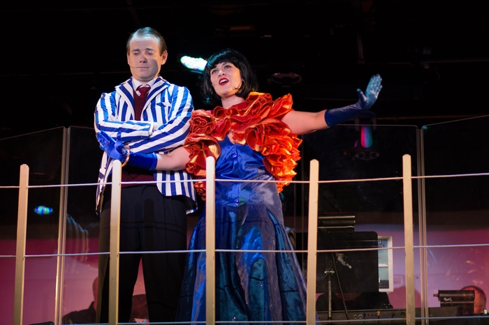 Darren Stewart and Tanis Laatsch in Anything Goes