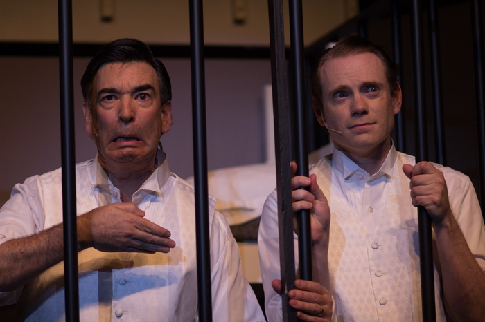 Darren Stewart and Bruce Fraser in Anything Goes