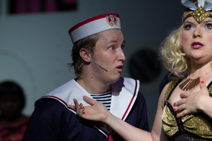 David Mottle and Andrea Timmons in Anything Goes