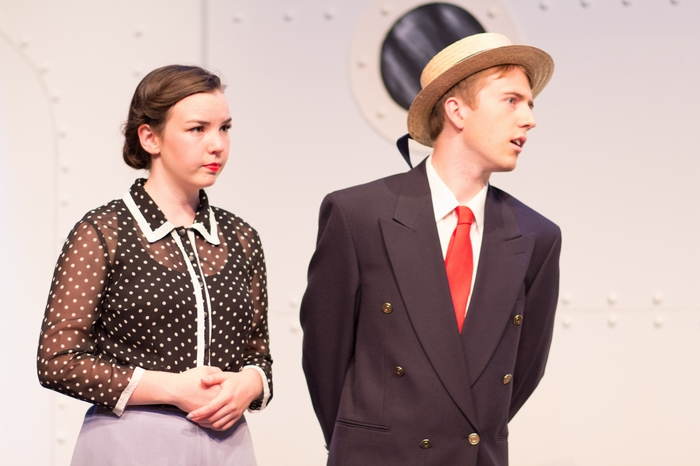 Evan Forbes and Jenna Fraser in Anything Goes