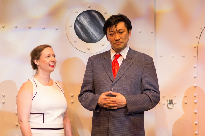 Terry Chung and Mikee Ames in Anything Goes