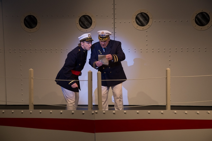 David Mottle and David Young in Anything Goes