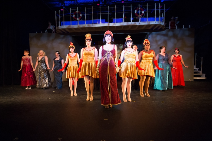 Tanis Laatsch, Andrea Timmons, Judy Dunsmuir, Chelsea Wellman, Nicole Bouwman, Meg Thatcher, Jessica Jones, Kimberly McDonald, Larra Caldie and Danielle Renton in Anything Goes
