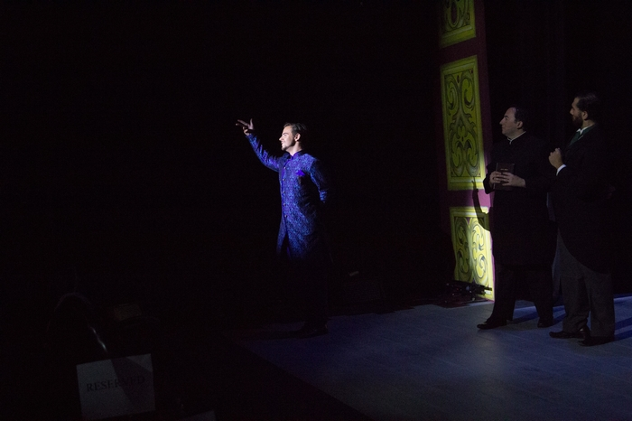 Thompson Harper, Steven Eastgaard-Ross and Jeffrey Diodati in The Mystery of Edwin Drood