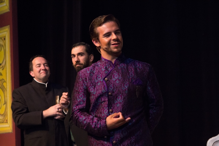 Steven Eastgaard-Ross, Jeffrey Diodati and Thompson Harper in The Mystery of Edwin Drood