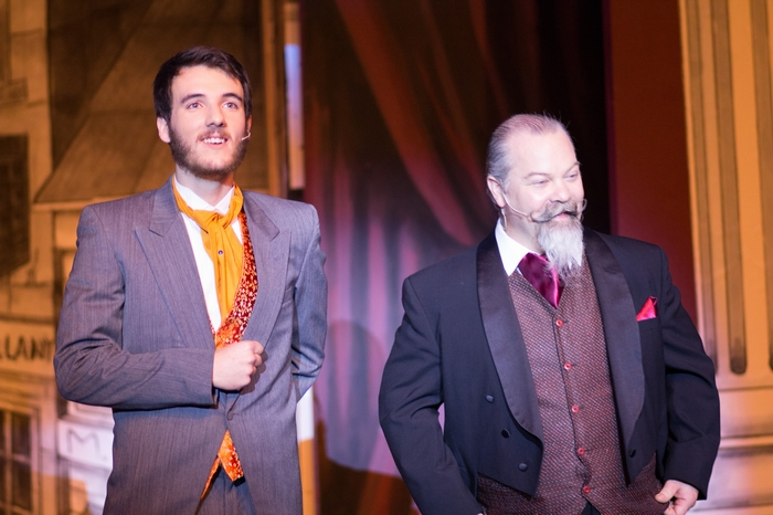 Johann Wentzel and Clark Adams in The Mystery of Edwin Drood