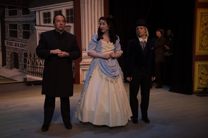 Steven Eastgaard-Ross, Nicole Heide, Chelsea Wellman and Jacqueline Reid in The Mystery of Edwin Drood
